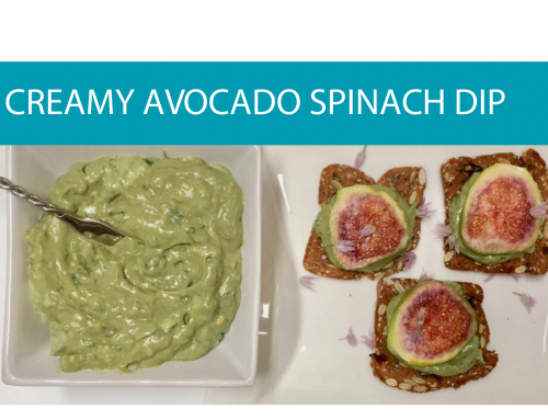 Creamy avocado spinach dip   Foodie Friday recipe