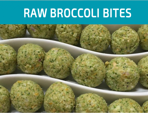 Raw Broccoli Bites | Great detoxification balancer
