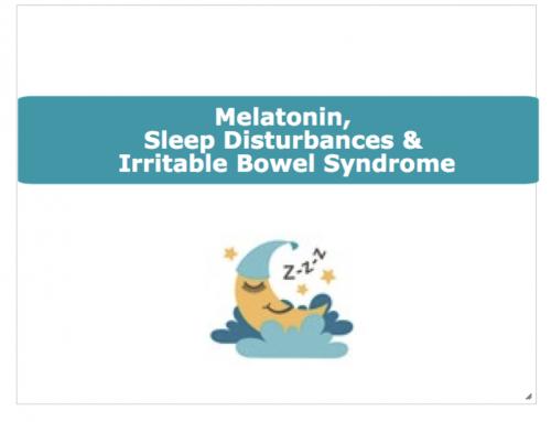 Melatonin, Sleep Disturbances & IBS
