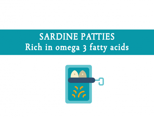 Sardine patties | A great way to include sardines in your weekly meal plan