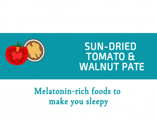 Sun-dried tomato and walnut pate | Melatonin-rich foods