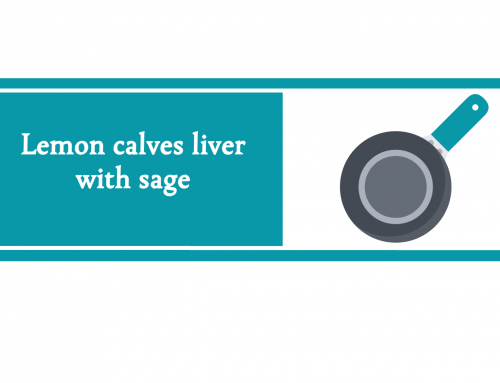 Lemon calves liver with sage | Foodie Friday