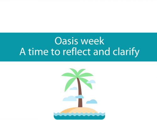Oasis week | Clarify your life's purpose