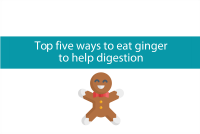 Top four ways to eat ginger for digestion from CALMERme.com