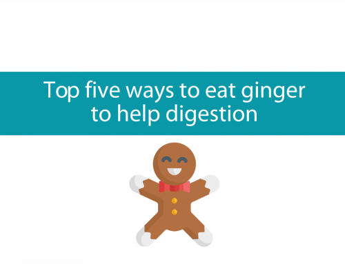 Top five ways to eat ginger to help digestion | Fast Friday Five