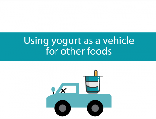 Using yogurt as a vehicle for other healthy foods | Foodie Friday