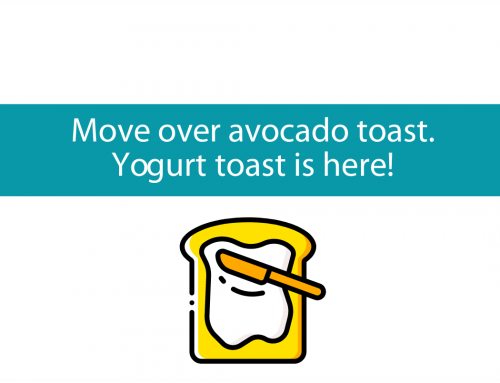 Move over avocado toast – Yogurt toast is here.