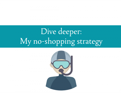 Dive deeper : My strategy for no shopping in January