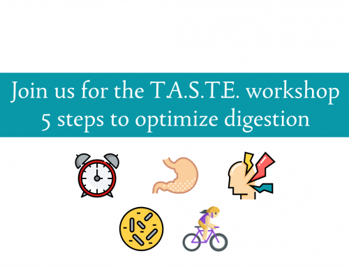 T.A.S.T.E. Workshop March 11th | Join us for the Digestion Dance