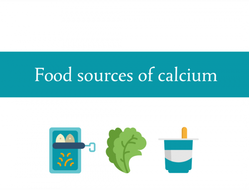 Do you get enough calcium in your diet? Calcium food sources