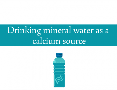 Drinking mineral water for the minerals | Can mineral water really be an important calcium source?