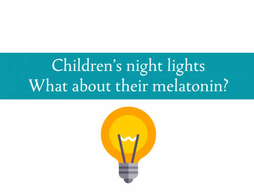 Children's night lights | What about their melatonin? | Fundamentals on Fridays