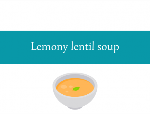 Lemony lentil soup | Foodie Friday