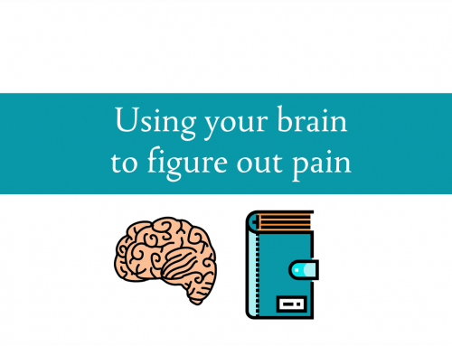 Using your brain to figure out pain | Pain symptom diary for joint and muscular pain