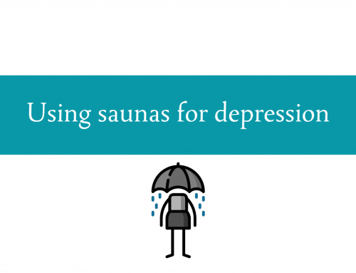 Using saunas for depression | Can a sauna session yield lasting improvement?