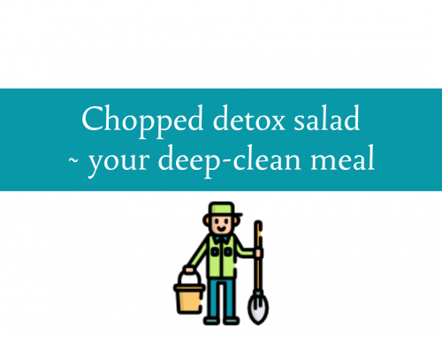 Chopped detox salad | A deep-clean meal for your body