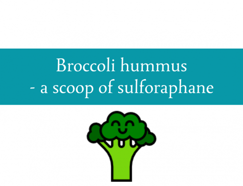 Broccoli hummus recipe | A scoop of sulforaphane