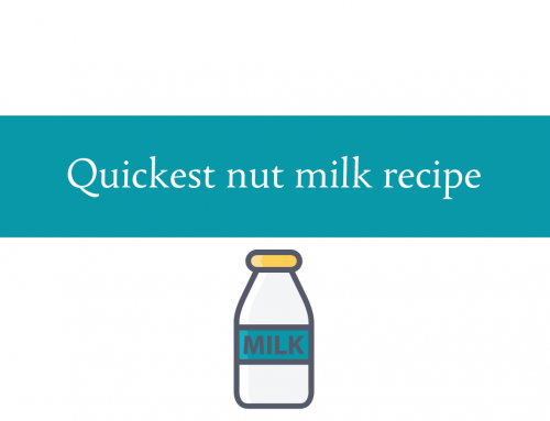 Quickest nut milk recipe | Enjoy a variety of nut milks