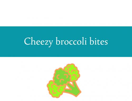 Cheezy broccoli bites recipe   Dehydrated broccoli with a crunch