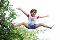The joy of trampolining - plus health benefits from improving lymph circulation