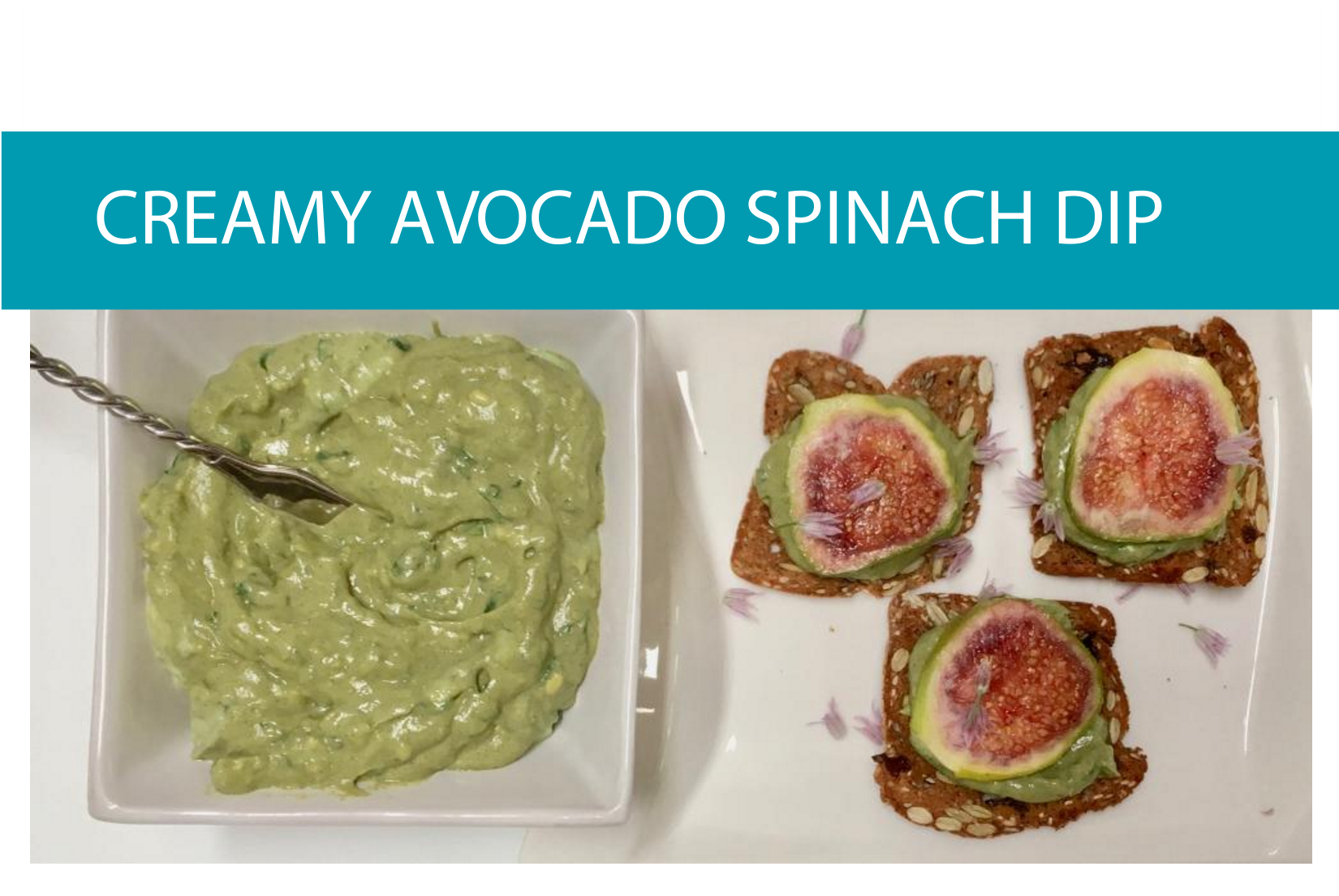 Creamy avocado spinach dip | Foodie Friday recipe