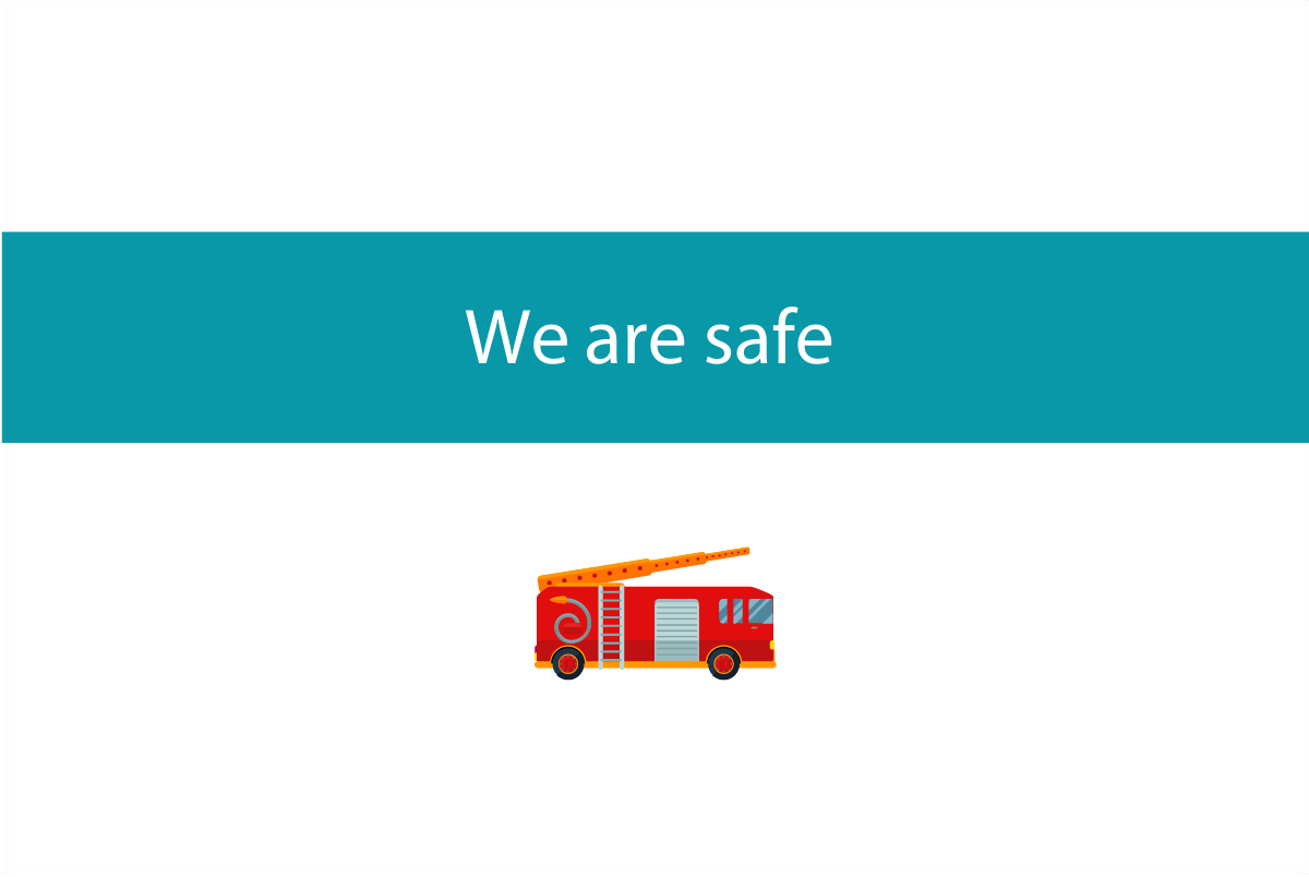 We are safe