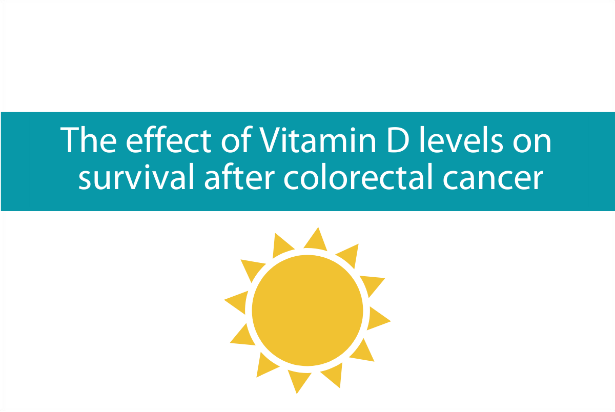 The effect of Vitamin D levels on survival after colorectal (bowel) cancer