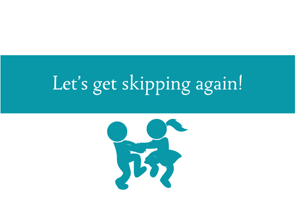 Let's get skipping again | When and why do we stop skipping?