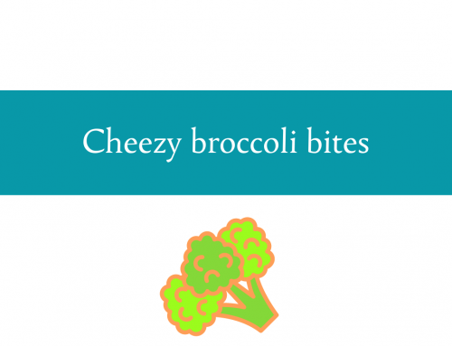 Cheezy broccoli bites recipe | Dehydrated broccoli with a crunch