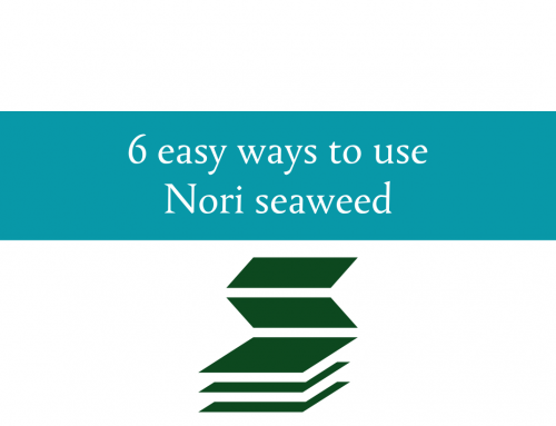 Six easy ways to use nori | Incorporating seaweed into your diet