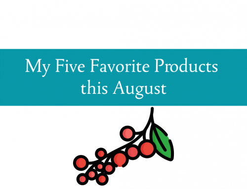 August five favorites | Products for the traveller