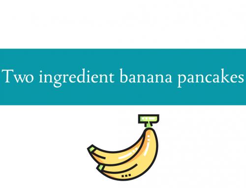 Banana pancakes recipe | 2 ingredient recipe
