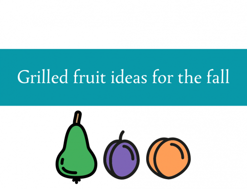 Grilled fruit ideas for fall | Different fruits and combinations