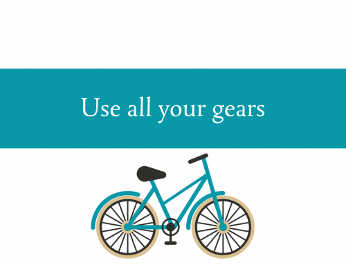 Use all your gears | Adapt to your terrain