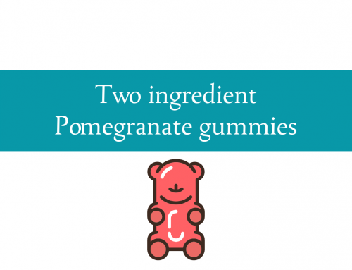 Two ingredient pomegranate gummies | New food Friday